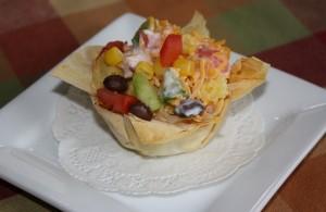 corn bread salad, super bowl foods, super bowl appetizer, healthy snack