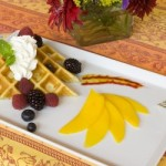 Orange Blossom Waffles