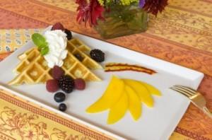 Orange Blossom Waffles