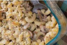 Chicken and Mushroom Pasta Casserole