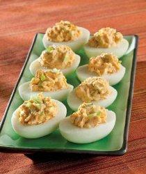 Thai Red Curry Deviled Eggs