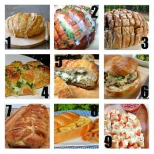 Stuffed Bread Recipes