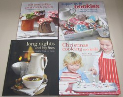 Four-Cookbook Prize Package Giveaway
