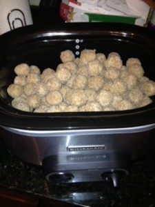 Casa Meatballs Before Cooking