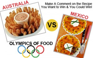 Food Olympics Greece vs