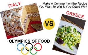 Food Olympics - Italy vs Greece