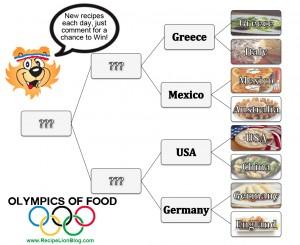 Olympics of Food Bracket Day Five