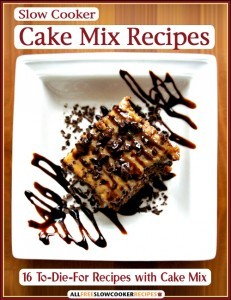 Free Cake Mix eCookbook