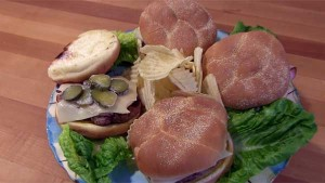 Cuban Style Hamburgers