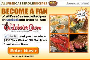 Lobster Gram Giveaway