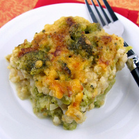 Broccoli Rice and Cheese Casserole