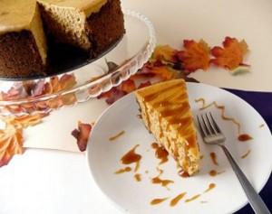 Fall Harvest Cheesecake