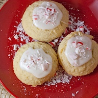 Peppermint Dough Balls