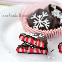 Candy Cane Peppermint Patties