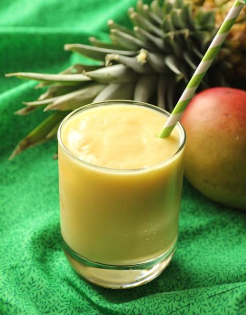 Better than McDonald's Mango Pineapple Smoothie