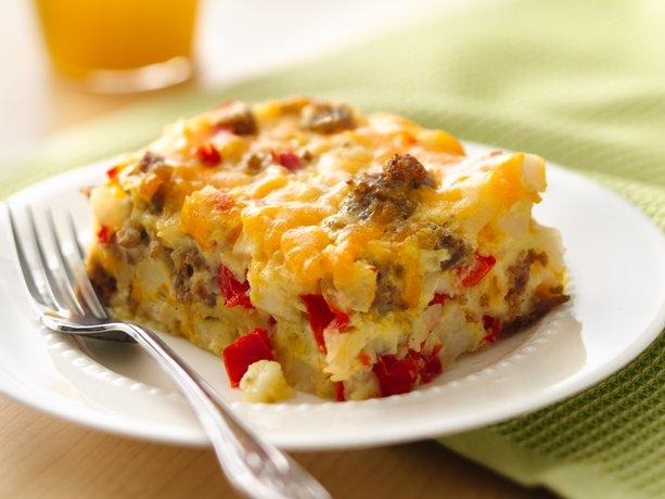 Impossible Easy Breakfast Bake