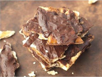 Caramel Cracker Candy