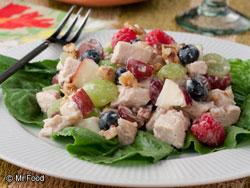 Berry Grape Chicken Salad