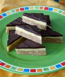 No Bake Pudding Bars