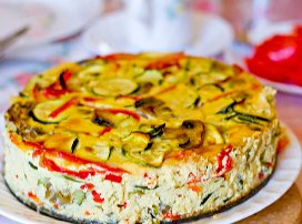 Summer Vegetable Torta