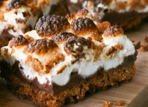 Perfect S'mores Bars