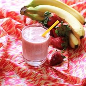 Strawberry Banana Smoothie2