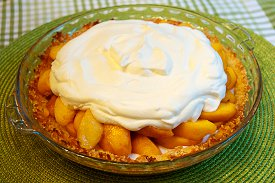 Heavenly Peach Pie