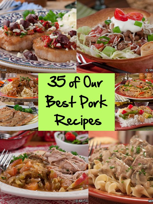 Best Pork Recipes: 35 Easy Recipes for Pork Chops, Pork Roasts, and More