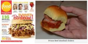 Prime Beef Meatball Slider