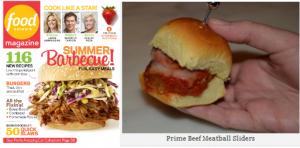 Prime Beef Meatball Sliders