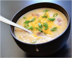 Budget Slow Cooker Potato Soup