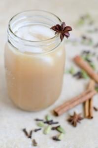 Iced Coconut Chai Tea