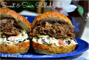 Sweet and Sour Pulled Pork