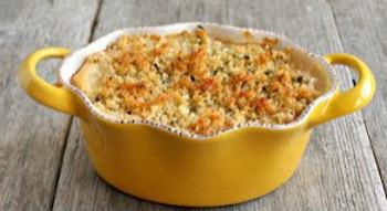 Cheesy Quinoa Asparagus Bake