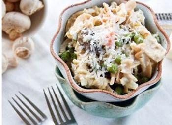 Lightened-Up Tuna Noodle Casserole
