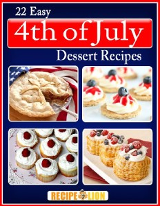 22 Easy 4th of July Dessert Recipes eCookbook