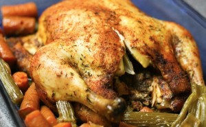 Ultimate Whole Chicken in a Slow Cooker