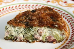 Ham and Broccoli Frittata