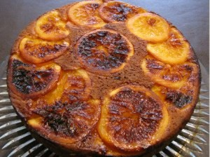 Upside Down Orange Cake