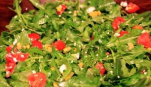 Fresh-Arugula-corn-and-Tomato-Salad