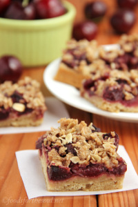 Cherry Crumble Bars 5