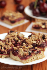 Cherry Crumble Bars 7
