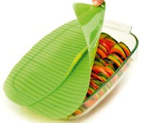 Banana Leaf Silicone Lid