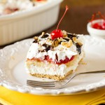 No-Bake Banana Split Cake