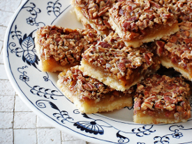 Old-Fashioned Pecan Pie Bars