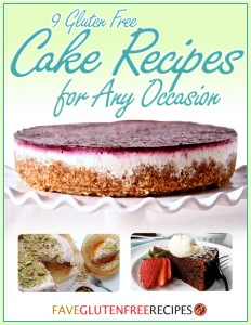 9 Gluten Free Cake Recipes