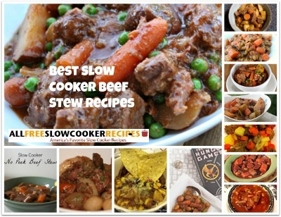 12 Best Slow Cooker Beef Stew Recipes