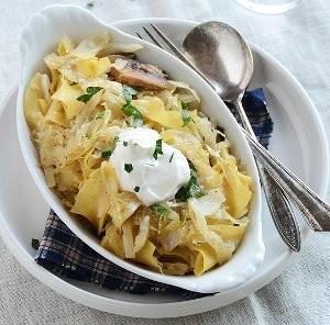 Sauerkraut Pierogi Casserole