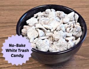 No-Bake White Trash Candy
