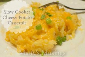 5 Ingredient Cheesy Potato Casserole